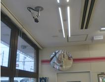 コンビニ店内への設置