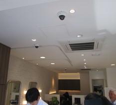 神奈川県川崎市多摩区美容室に防犯カメラ設置