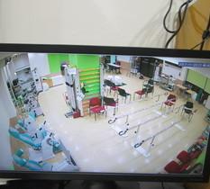 東京都大田区のリハビリクリニックに防犯カメラ設置