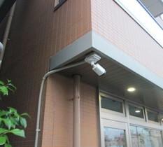 東京都江戸川区店舗兼住宅に防犯カメラ設置