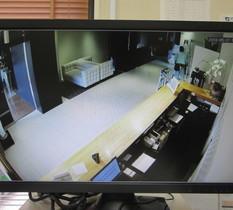 茨城県古河市ビジネスホテルに防犯カメラ設置
