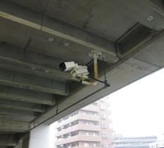 神奈川県相模原市の立体駐車場の防犯カメラ入替