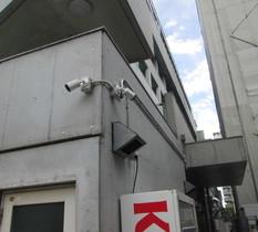 神奈川県相模原市のテナントビルに防犯カメラ設置
