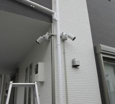 東京都江戸川区の個人宅に防犯カメラ設置