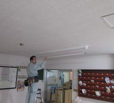 東京都板橋区の社員寮で照明をLED化