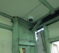 東京都江戸川区のメッキ工場にカメラ設置