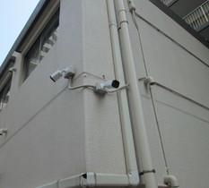 川崎市幸区のマンションに防犯カメラ設置