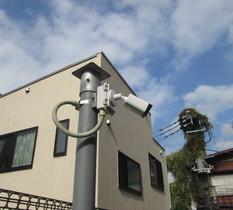 東京都品川区の分譲マンションの防犯カメラ入替