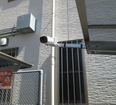 JR金町駅前駐輪場に防犯カメラ設置