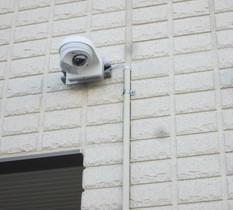 千葉県松戸市の自宅兼美容室に防犯カメラ設置