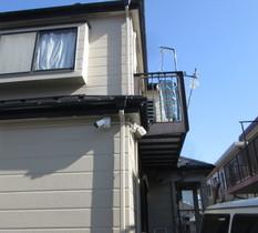 神奈川県横浜市の個人宅に防犯カメラ設置
