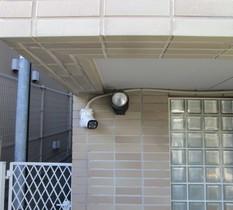 東京都渋谷区のマンションにカメラ設置