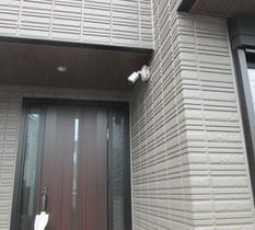 神奈川県川崎市の個人宅に防犯カメラ設置