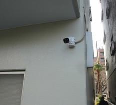 神奈川県相模原市のマンションにカメラ設置