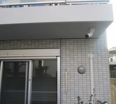 埼玉県蕨市の新築マンションに防犯カメラ設置