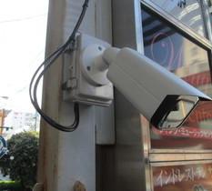 東京都新宿区のテナントビルに防犯カメラ設置
