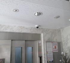 東京都江東区のマンションに防犯カメラ設置