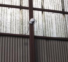 東京都江戸川区の鍍金工場に防犯カメラ設置①