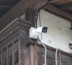 東京都東大和市の個人宅に防犯カメラ設置