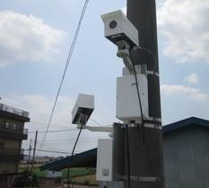 群馬県太田市のソーラー発電所に防犯カメラ設置
