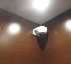 東京都大田区のマンションに防犯カメラ設置
