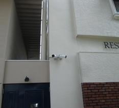 東京都小金井市のレストランに防犯カメラ設置