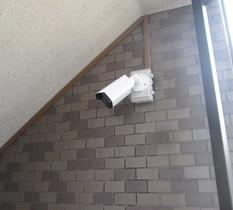 東京都葛飾区のマンションに防犯カメラ設置