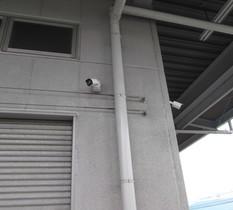 埼玉県狭山市の建設資材センターに防犯カメラ設置