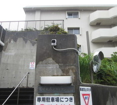 千葉県船橋市のマンションに防犯カメラ設置