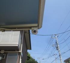 千葉県松戸市の個人宅に防犯カメラ設置