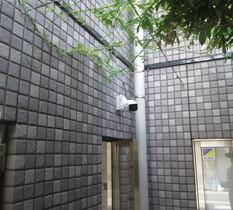 東京都中野区のマンションで防犯カメラ入替